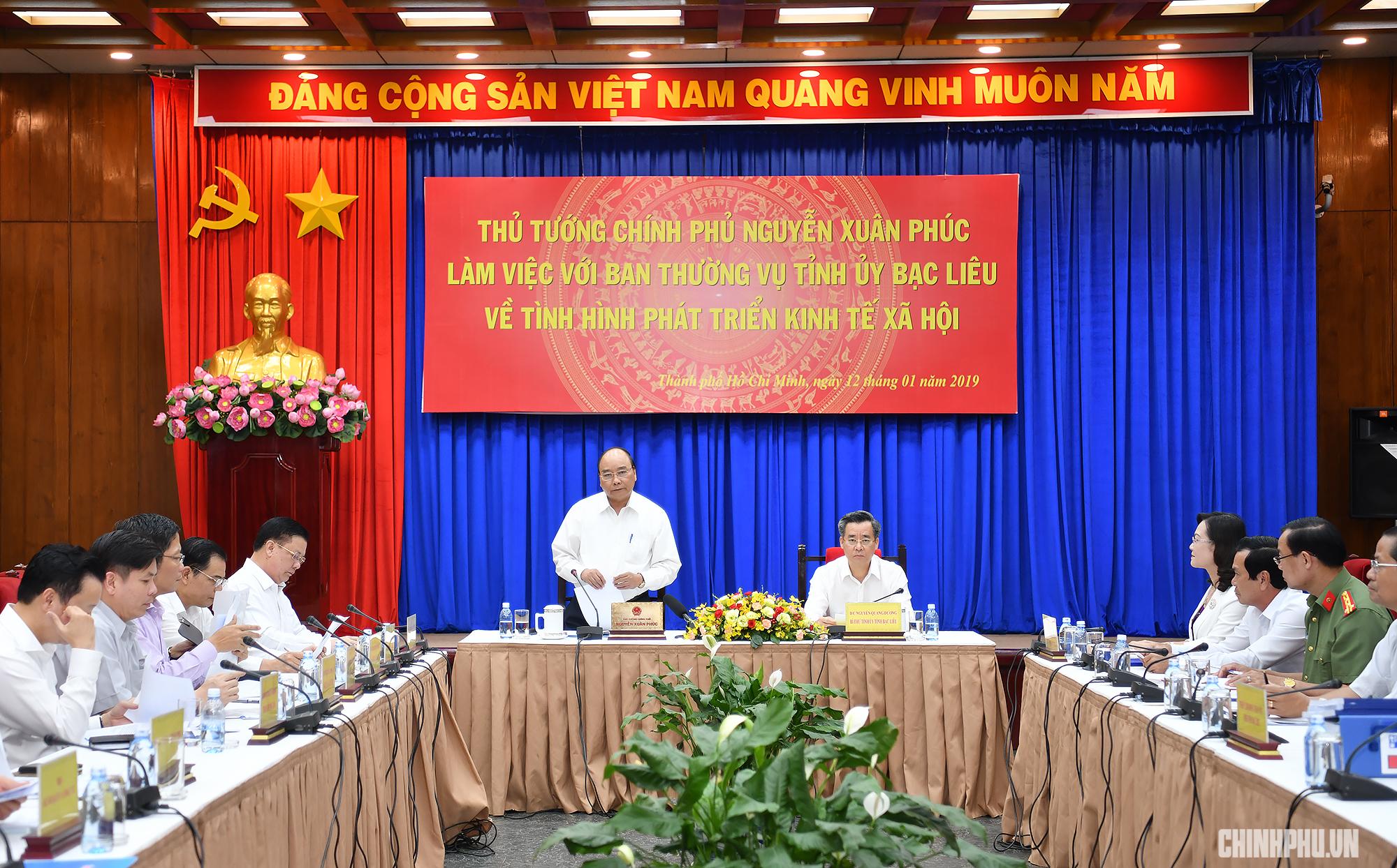 """Thủ tướng Chính phủ ủng hộ dự án """"tỷ đô"""" để Bạc Liêu bứt phá"""