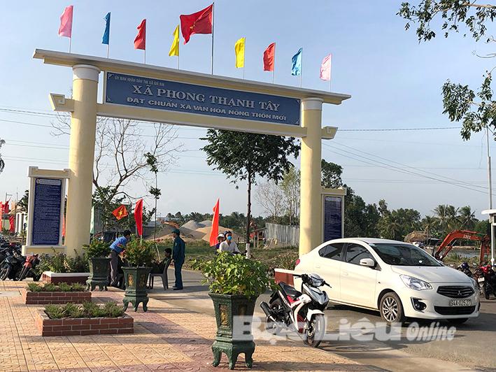 Niềm vui ở xã nông thôn mới - Phong Thạnh Tây