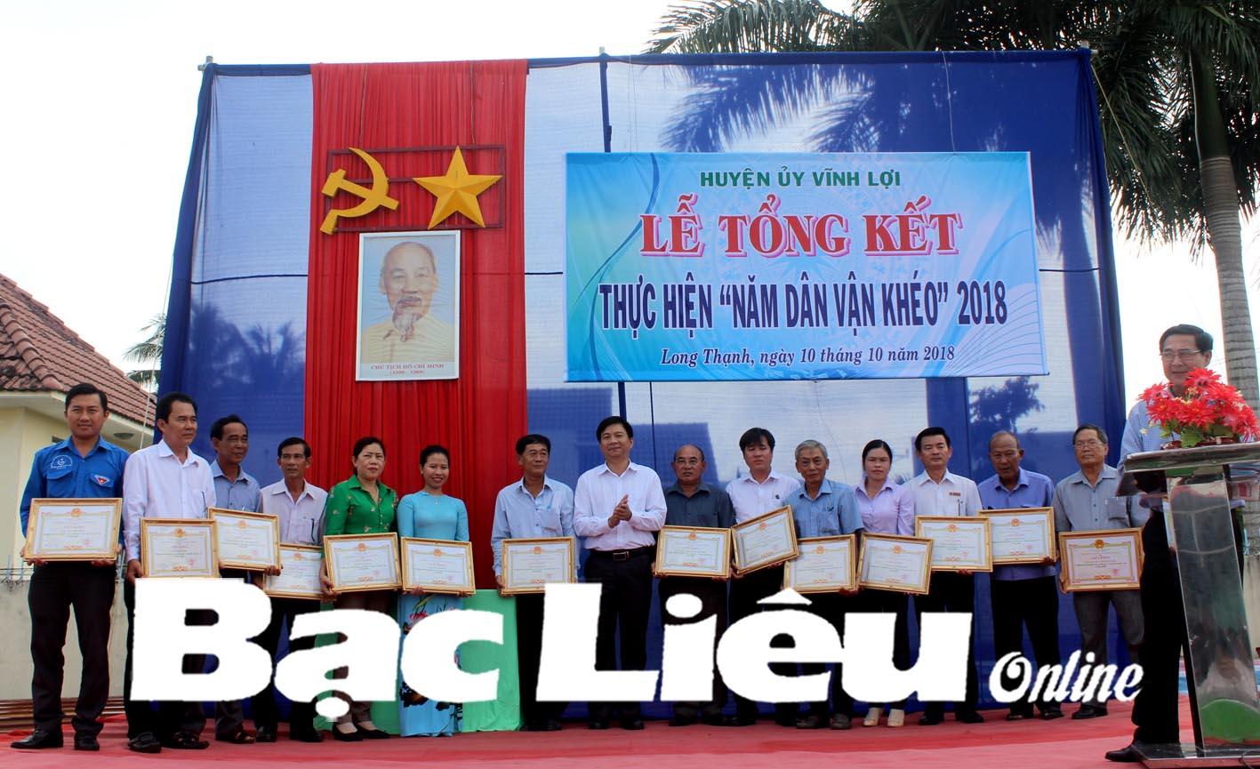 Huyện Đoàn Vĩnh Lợi: Những dấu ấn trong thực hiện phong trào Dân vận khéo