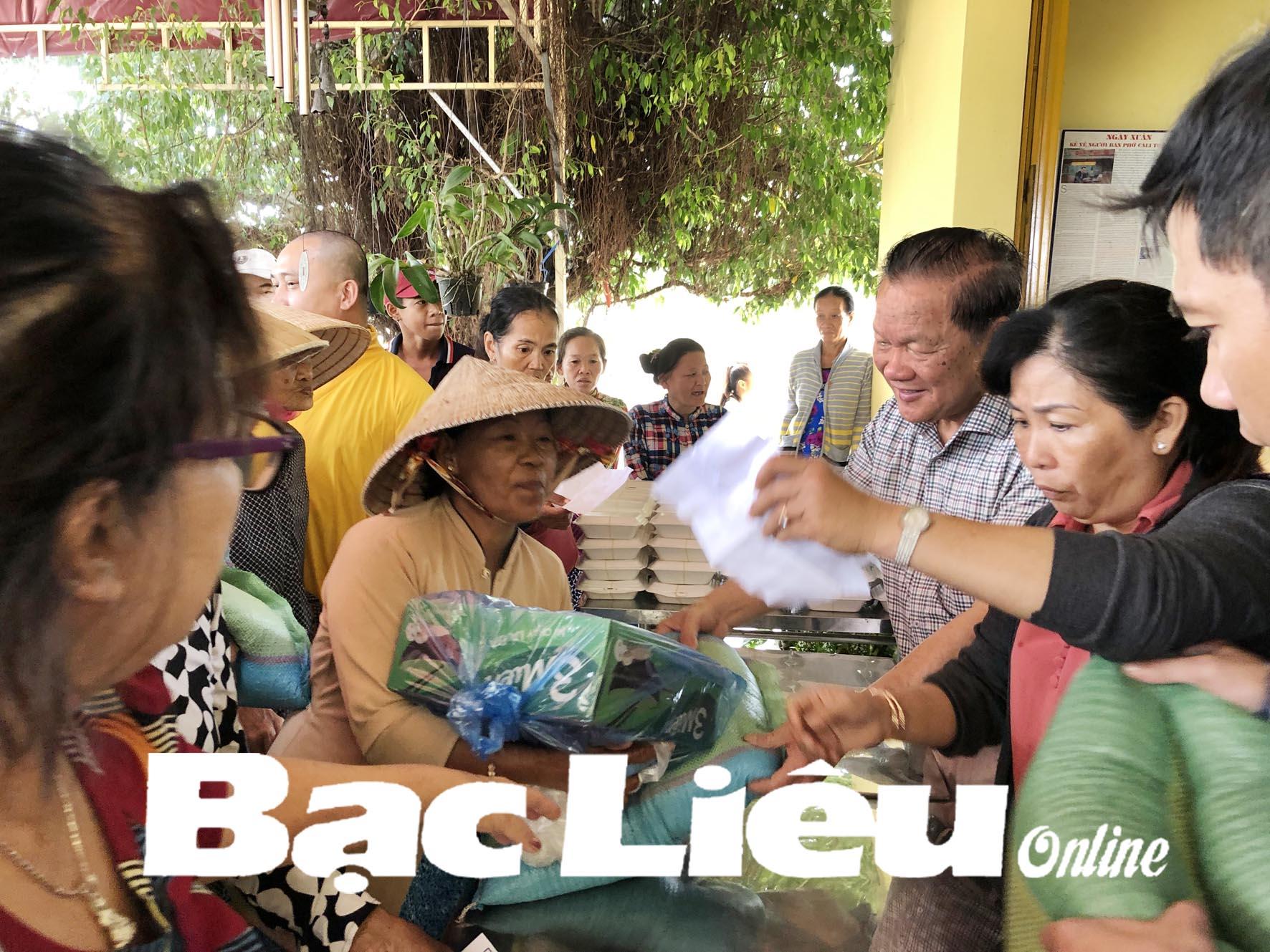 Tấm lòng của một Việt kiều Bạc Liêu xa xứ