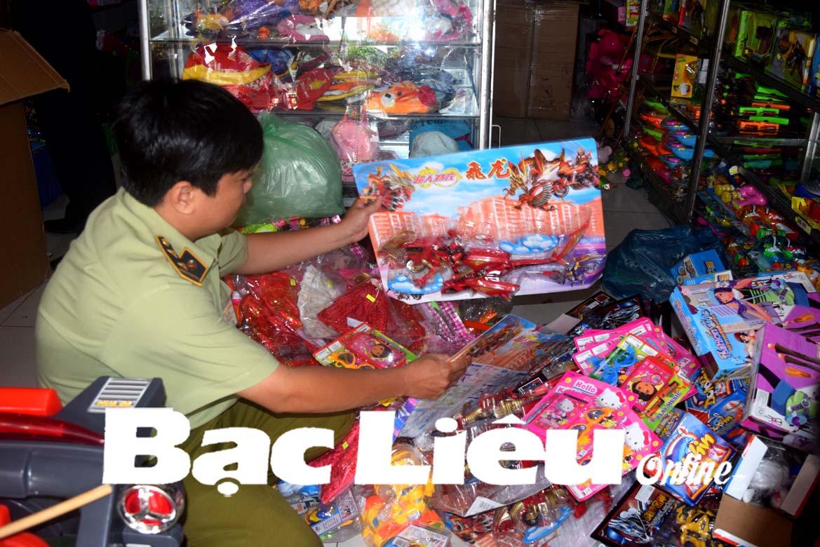 Cần tăng cường quản lý thị trường đồ chơi trẻ em