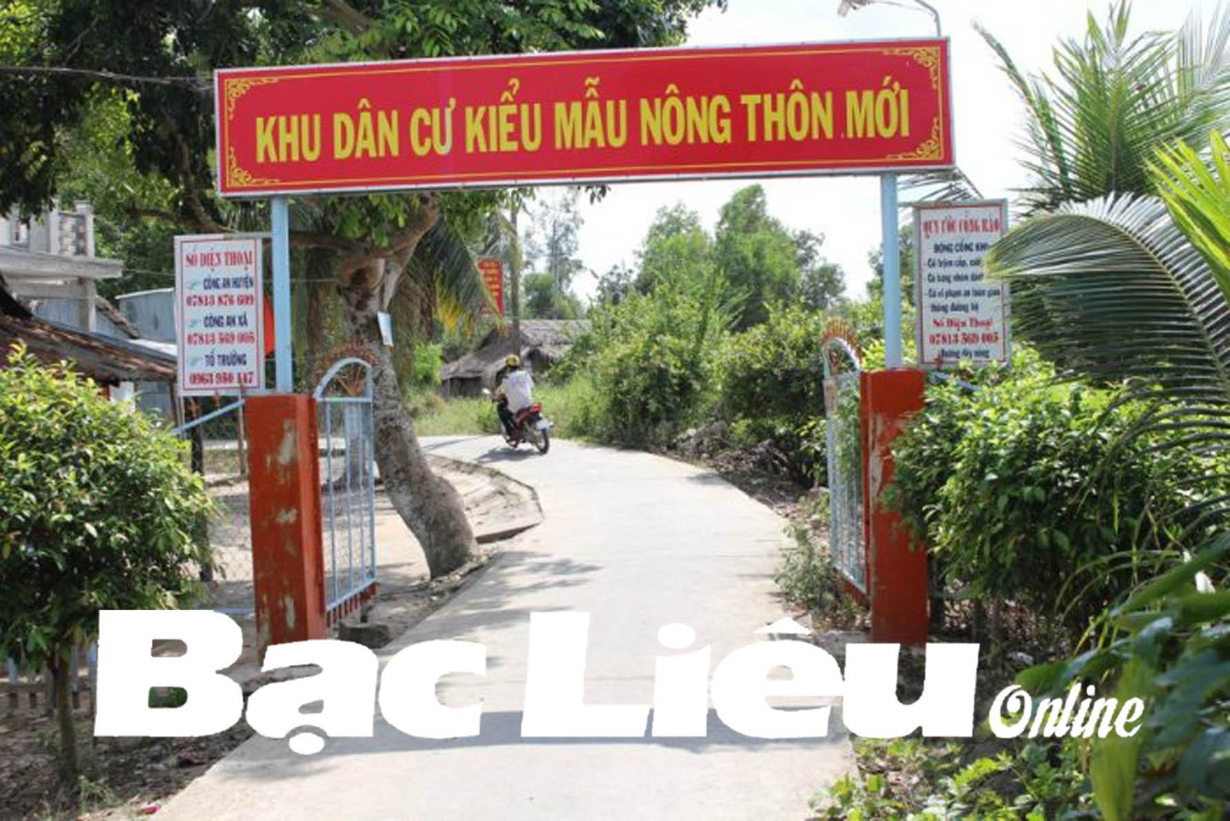Huyện Hồng Dân: Dân vận khéo trong xây dựng nông thôn mới