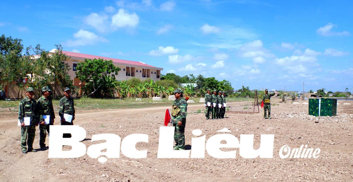 Sôi nổi ra quân huấn luyện sẵn sàng chiến đấu