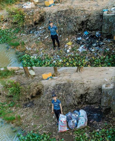 """Tham gia dọn rác - """"thách thức để thay đổi"""""""