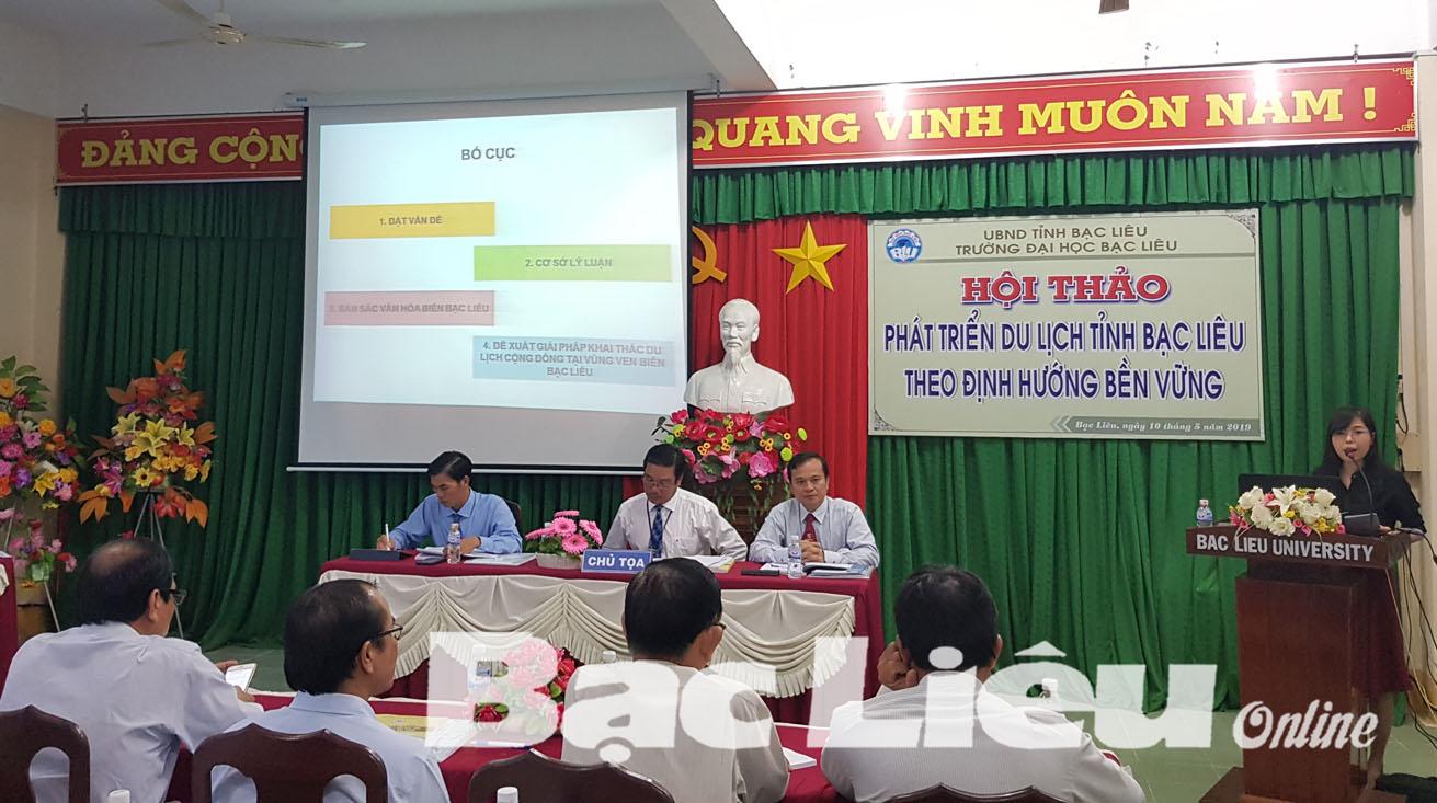 Hội thảo phát triển du lịch Bạc Liêu theo định hướng bền vững