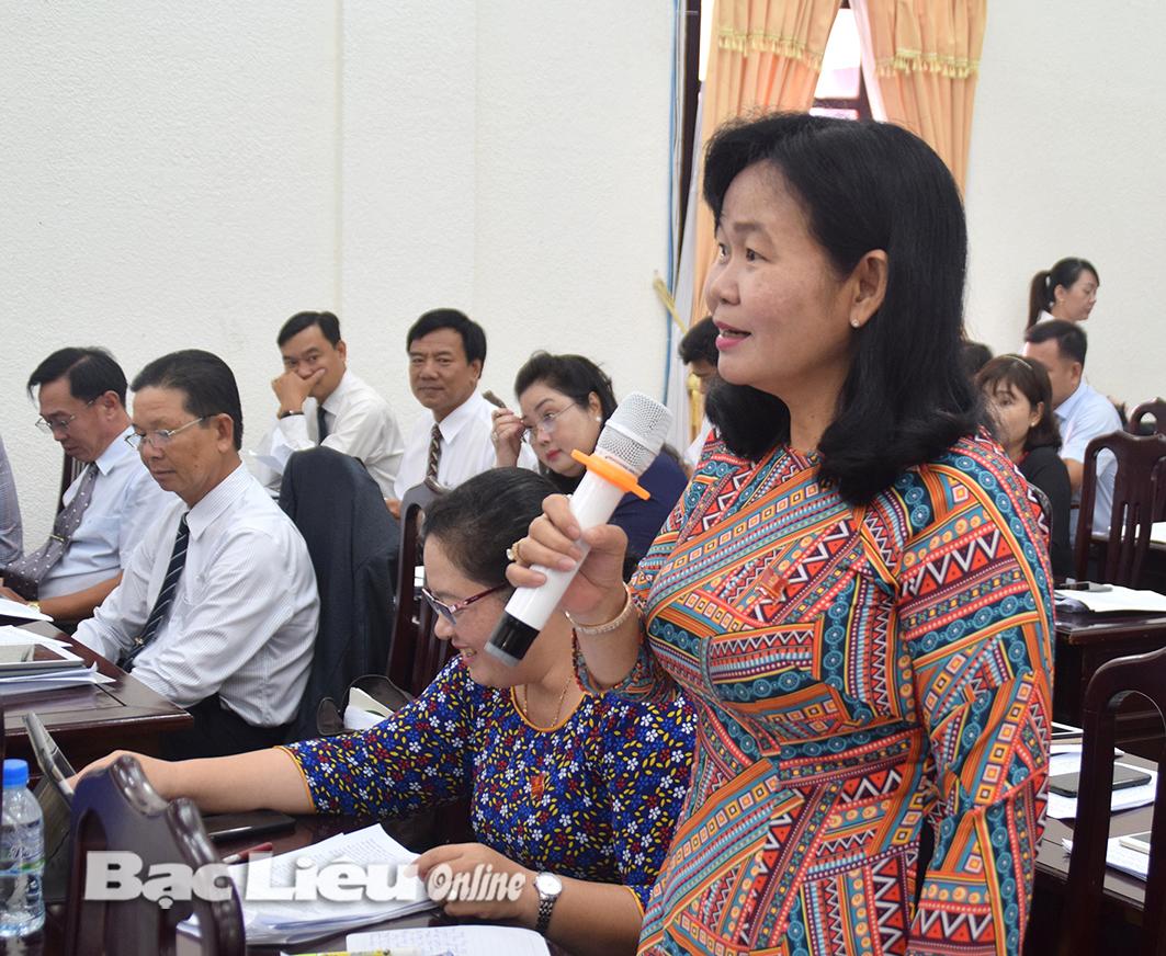 Chất vấn tại kỳ họp thứ 10, HĐND tỉnh khóa IX: Vẫn chuyện môi trường nông thôn, dự án chậm tiến độ...