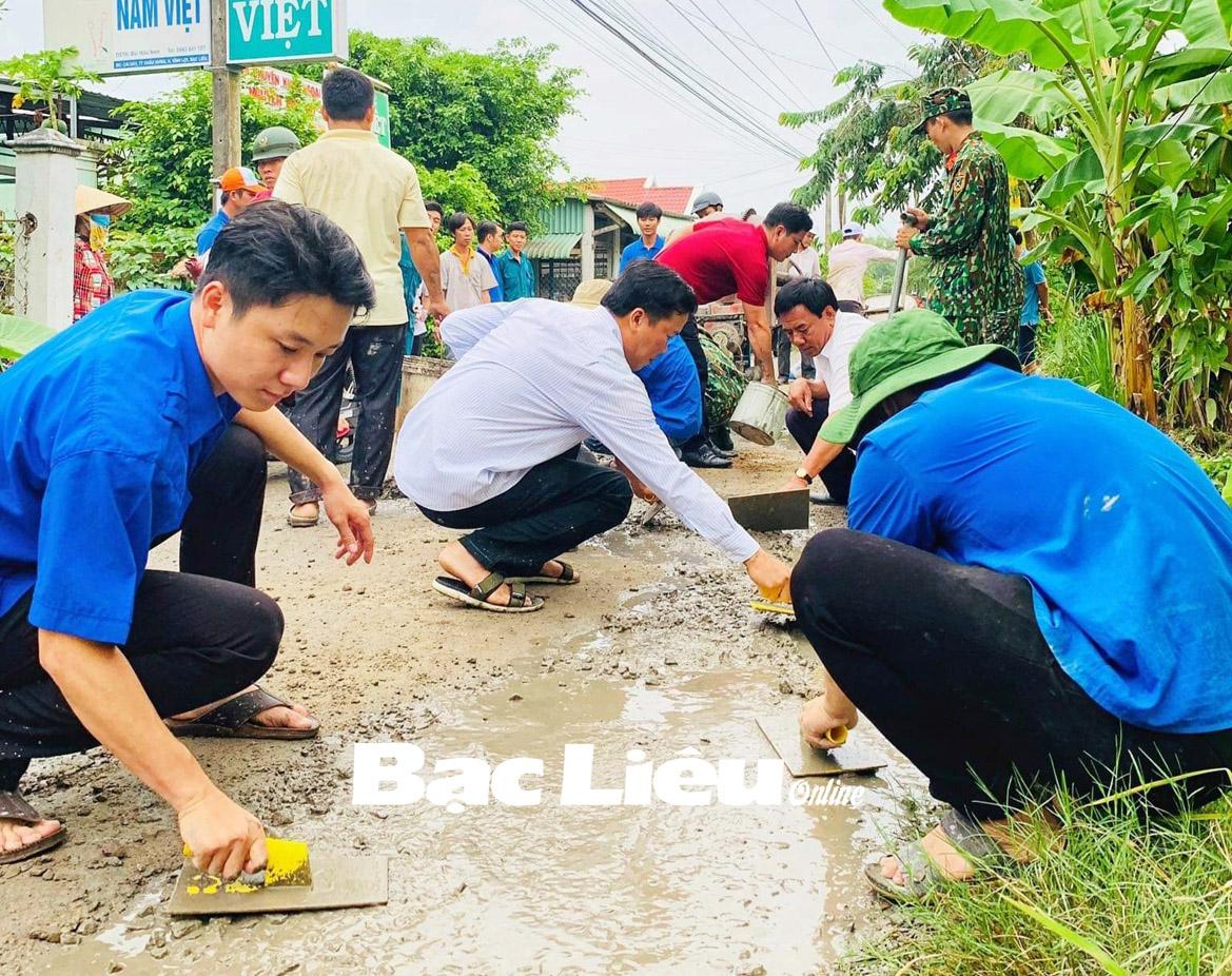 Góp sức trẻ thực hiện Nghị quyết Đại hội Đảng bộ tỉnh