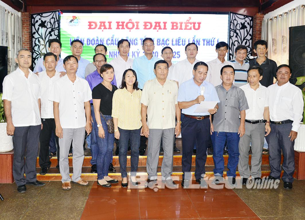 Đại hội đại biểu Liên đoàn Cầu lông tỉnh Bạc Liêu thành công tốt đẹp