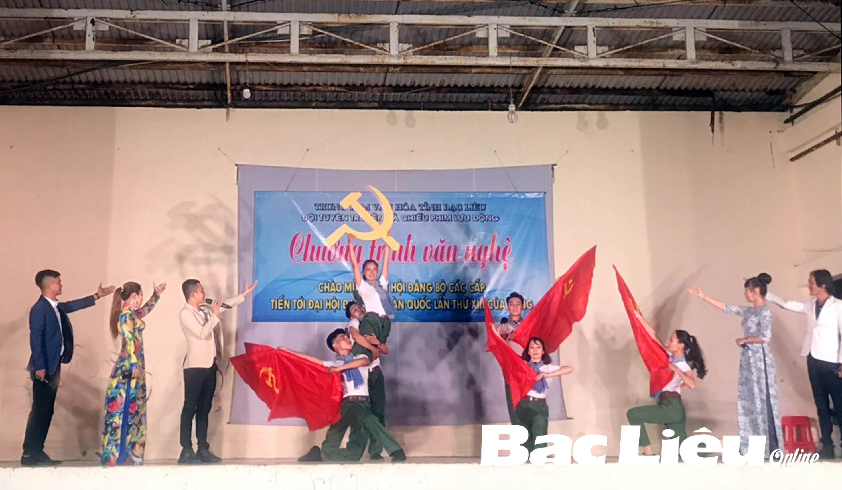 Ngành VH-TT-TT&DL: Nhiều hoạt động chào mừng Đại hội Đảng các cấp