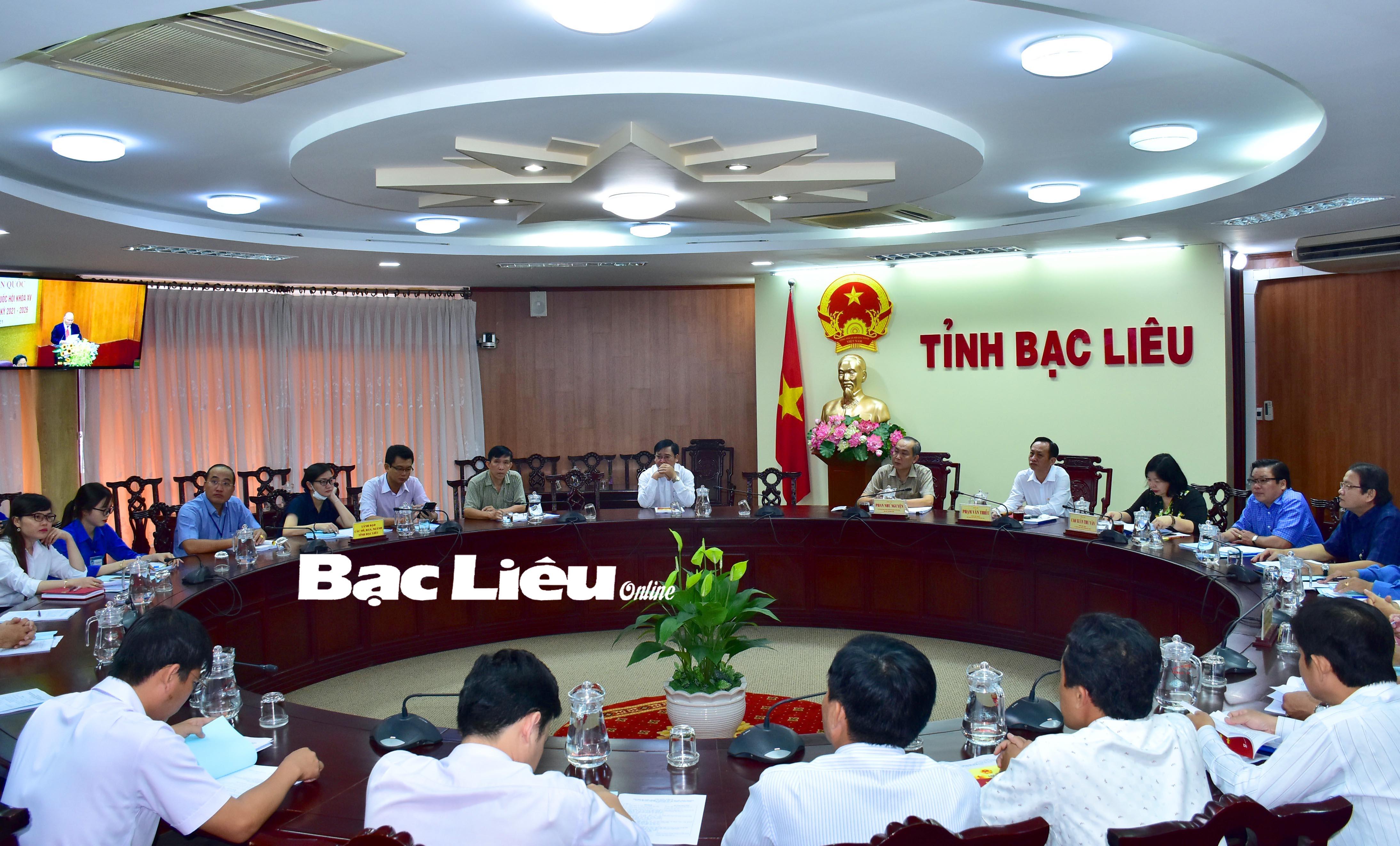 Hội nghị trực tuyến toàn quốc tập huấn nghiệp vụ công tác bầu cử