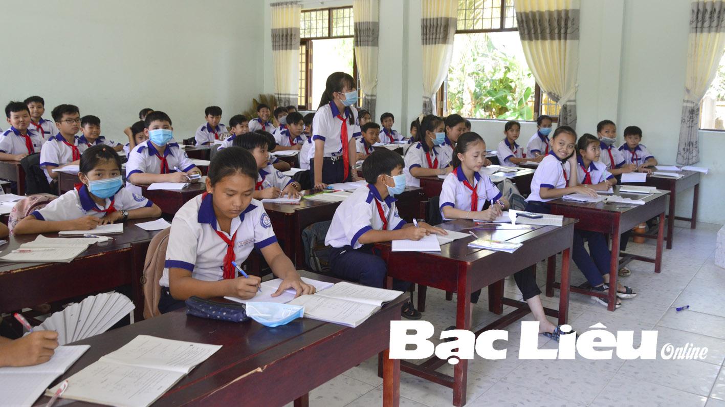 Trường THCS xã Hưng Phú: Tập trung ôn tập cho học sinh lớp 9