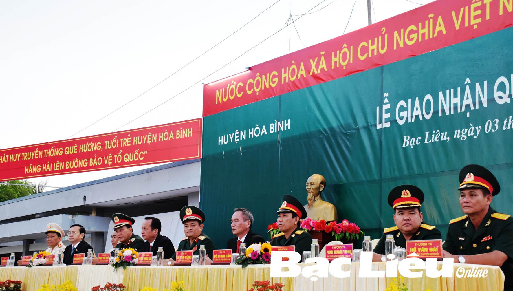 Bạc Liêu: Tổ chức ngày hội giao - nhận quân trang trọng và an toàn