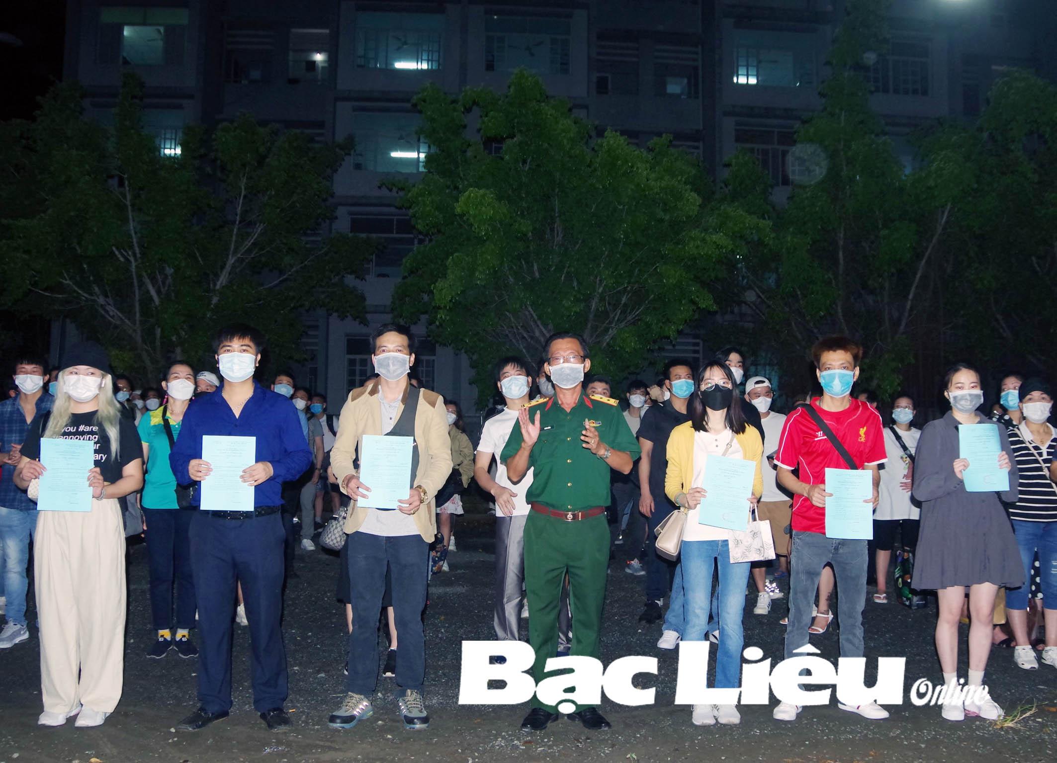 391 công dân Việt Nam về từ Hàn Quốc hoàn thành thời gian cách ly phòng bệnh COVID-19