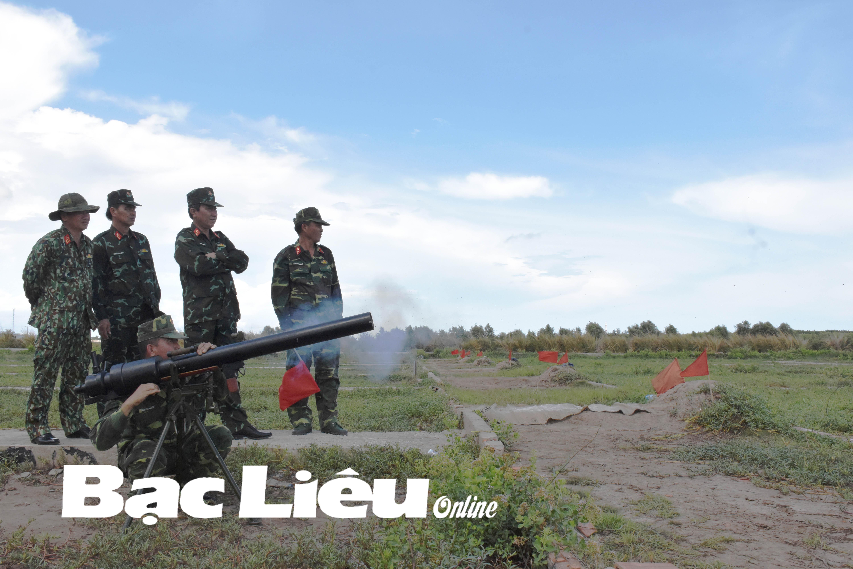 Bộ CHQS tỉnh: Tổ chức bắn thực nghiệm các mô hình, sáng kiến, cải tiến kỹ thuật