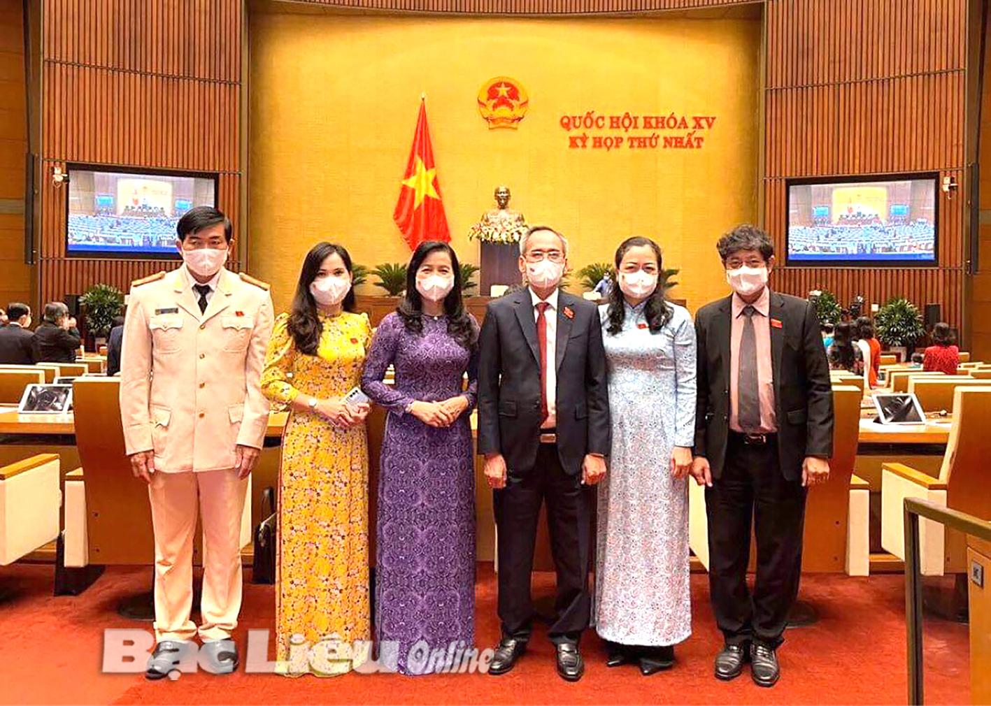 Kỳ họp thứ 1 Quốc hội khóa XV: Những hoạt động ý nghĩa