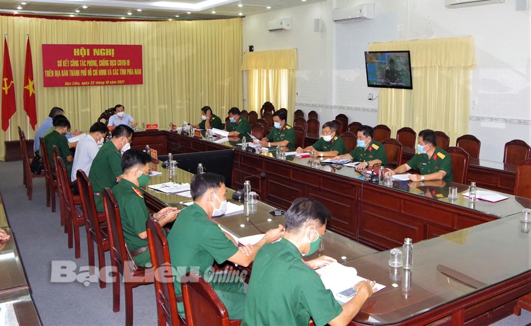 Tổ công tác đặc biệt Chính phủ: Sơ kết công tác phòng, chống dịch COVID-19 trên địa bàn TP. Hồ Chí Minh và các tỉnh phía Nam